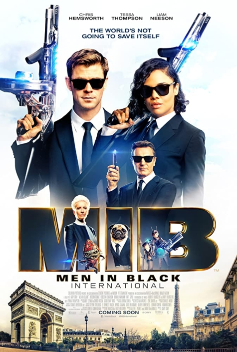 Men In Black (2019) Hair stylist Mr. Chris Hemsworth
