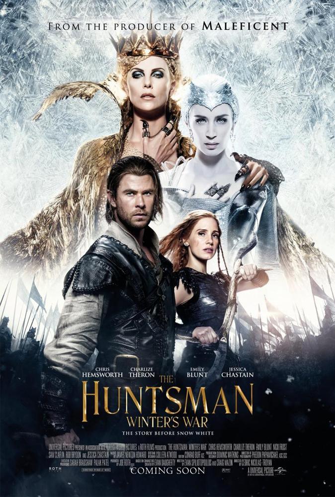 The Huntsman Winters War (2016) Hair designer & Makeup designer